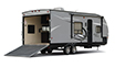 Travel Trailer Toy Hauler RV